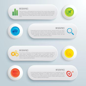 Infographic Business Conceptual Template