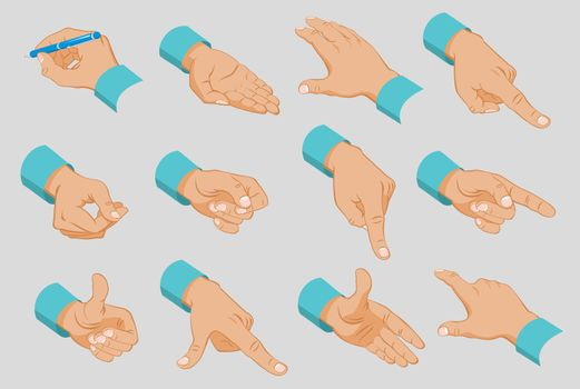 Male Hands Collection