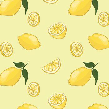 Light Summer Fruit Pattern