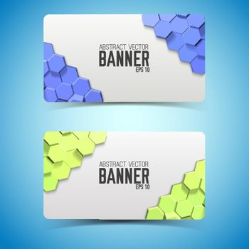Geometric Horizontal Banners