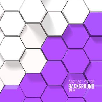 Geometric Bright Background