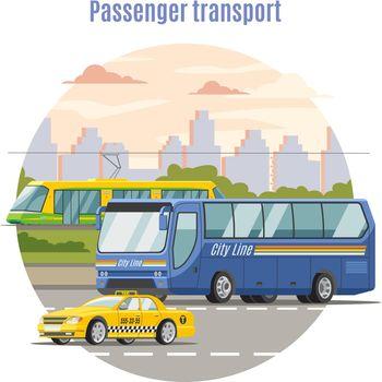 Urban Public Passenger Vehicles Template