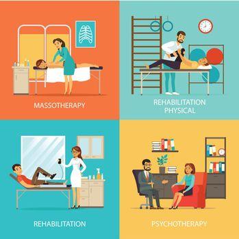 People Rehabilitation Square Concept