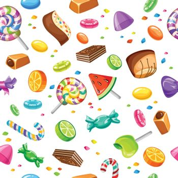Sweet Candy Pattern