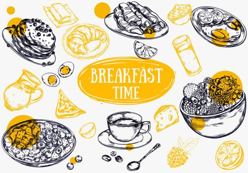 Food Breakfast Brochure