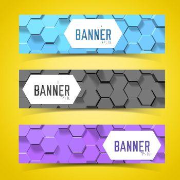 Pentagon Banner Set