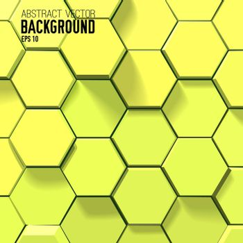 Geometric Abstract Bright Background