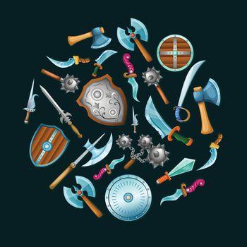 Medieval Weapon Set