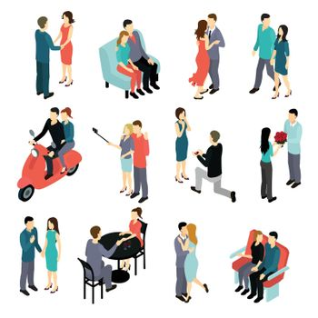 Loving Couples Isometric Set