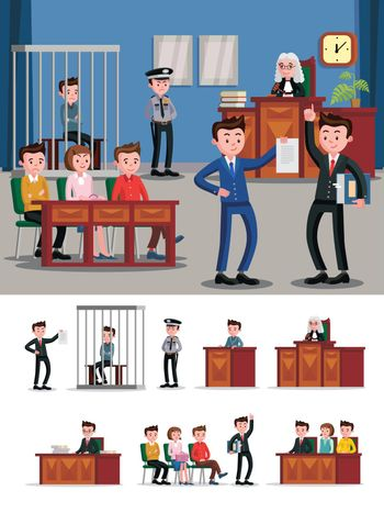 Law System Flat Composition