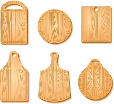 Cutting Board Icon Set