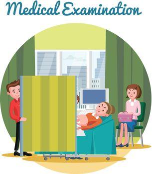 Medical Ultrasound Diagnostic Procedure Template