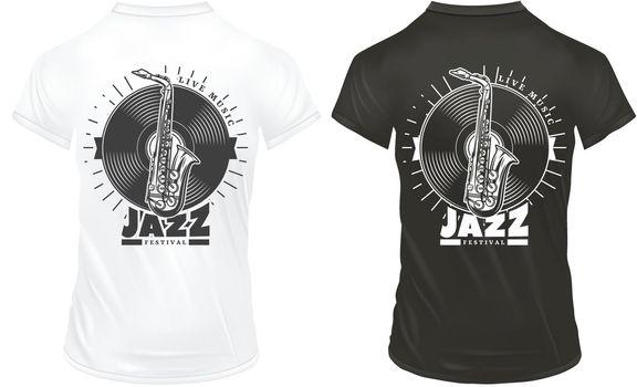 Vintage Jazz Music Prints Template