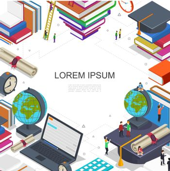 Online Education And Learning Composition