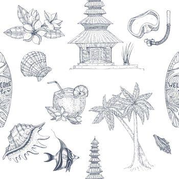 Bali Hand Drawn Pattern