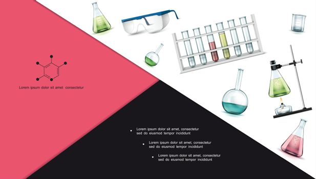 Realistic Laboratory Research Objects Composition