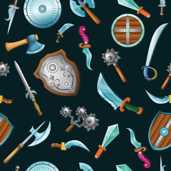 Medieval Weapons Pattern