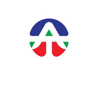 A Letter Logo Business Vector