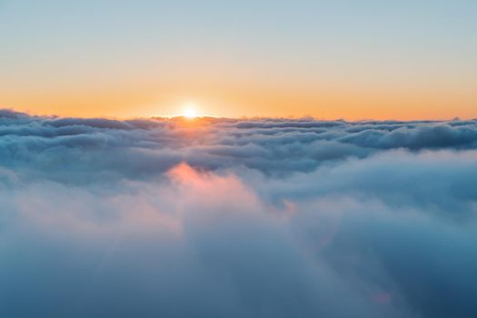 Above Clouds Background