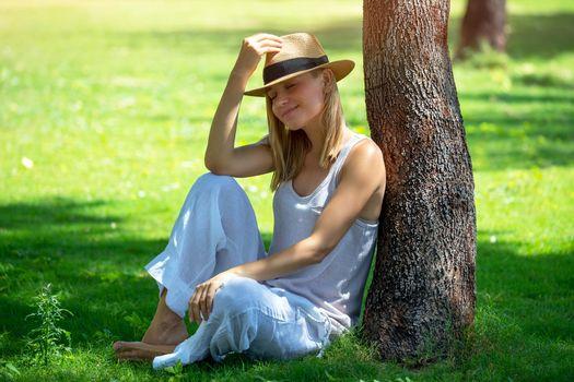 Enjoying Summer Park