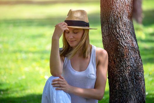 Nice Girl in the Park