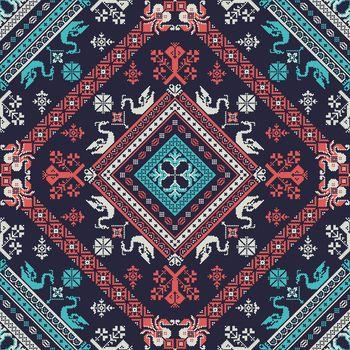 Russian pattern 16
