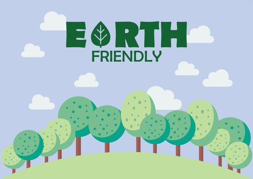 Earth friendly poster