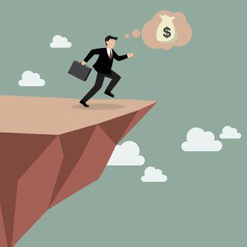 Businessman takes a leap of faith on Clifftop