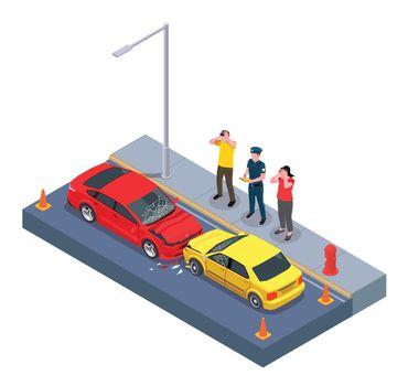 Car Owners Crash Composition