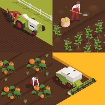 Harvesting Isometric Concept