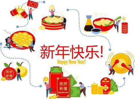 Chinese New Year Flowchart