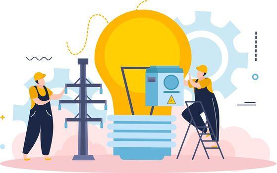 Electricity Light Bulb Composition