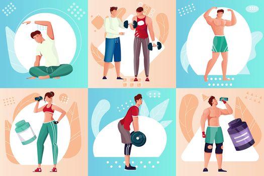 Bodybuilding Composition Set