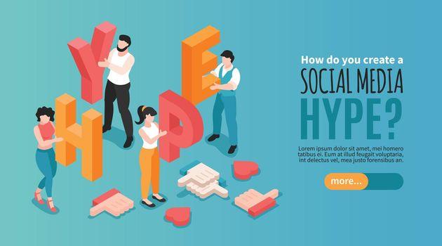 Social Media Hype Banner