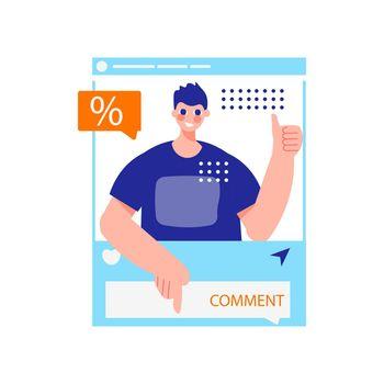 Social Post Discount Composition
