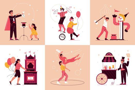 Circus Funfair Design Concept