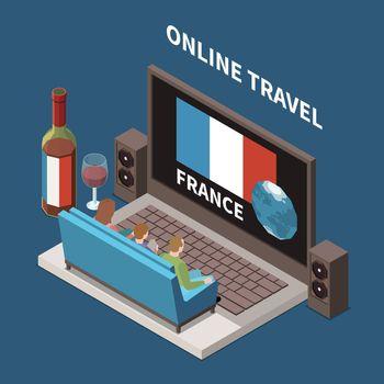 Online Travel Concept