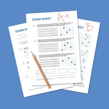Exam Test Sheet Composition