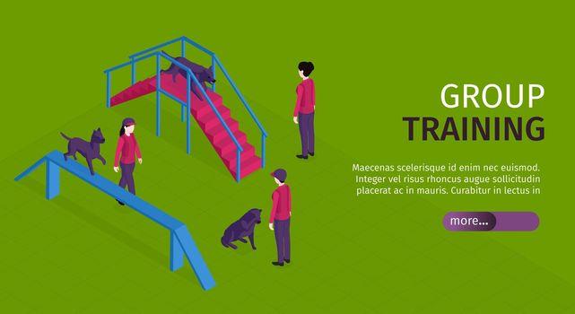 Dog Training Horizontal Banner