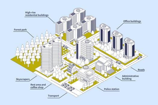 Modern City Infographics