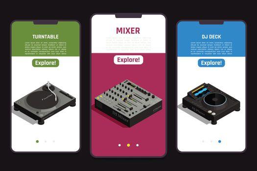 DJ Tools Isometric Set