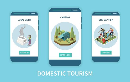 Domestic Tourism Banners