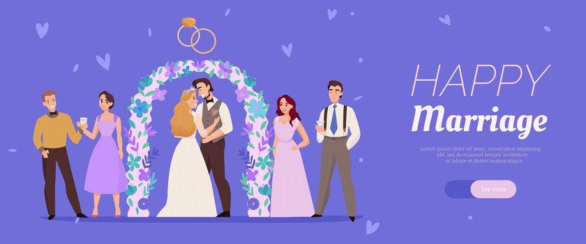 Wedding Marriage Ceremony Banner