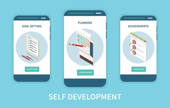 Self Development Vertical Banners
