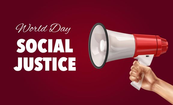 World Day Of Social Justice Background