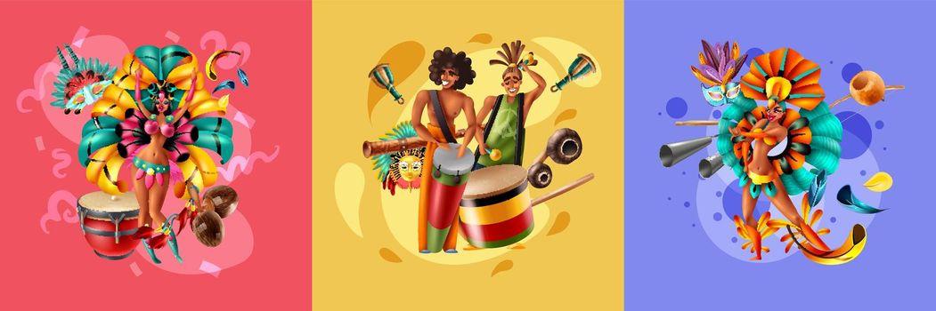 Brazil Carnival Design Concept