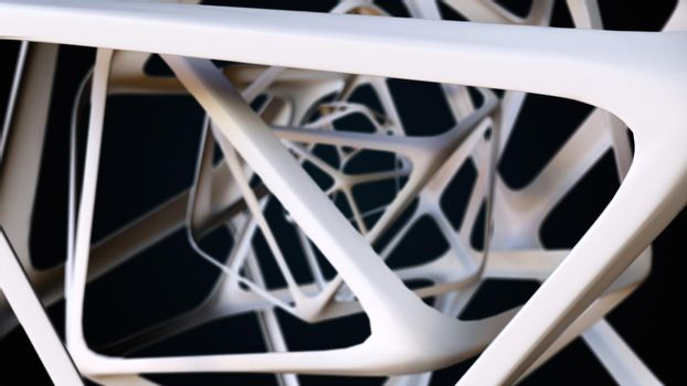 Polyhedron from lattice structure