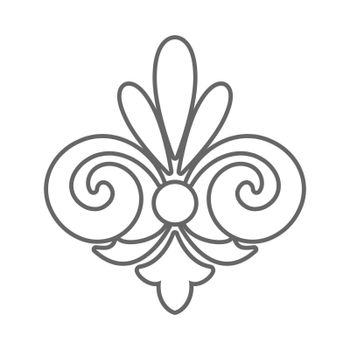 decorative element template for decorating frames, postcards, scrapbooking and creative design. Flat style