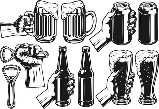 Set of beer object