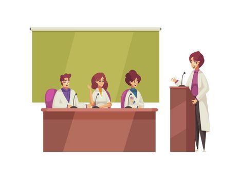 Medical Conference Illustration
